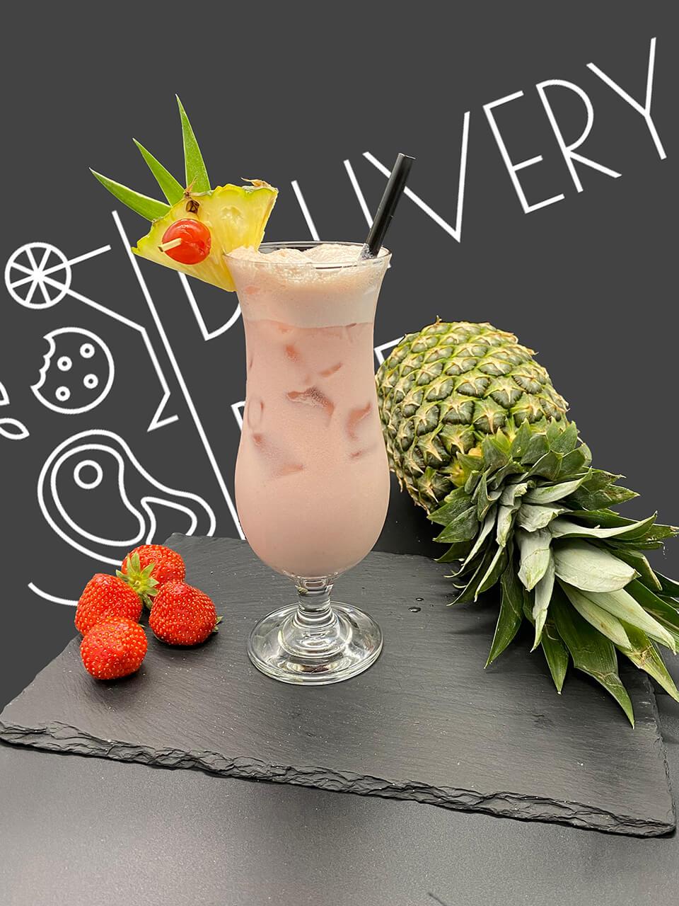 Virgin Strawberry Colada